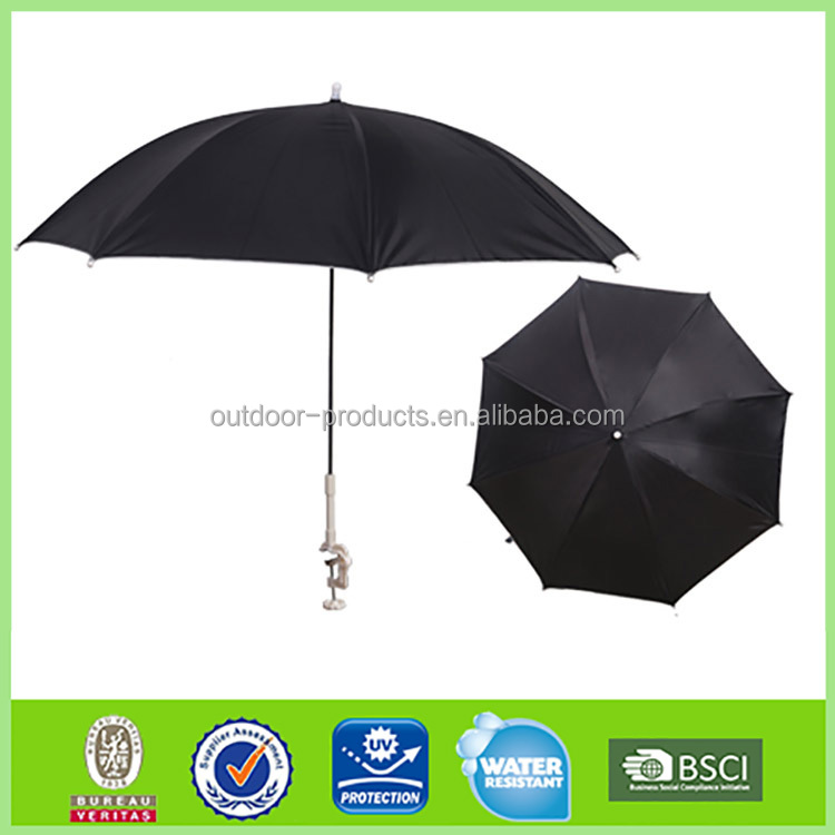 New Product Parasol 8 steel ribs folding beach umbrella