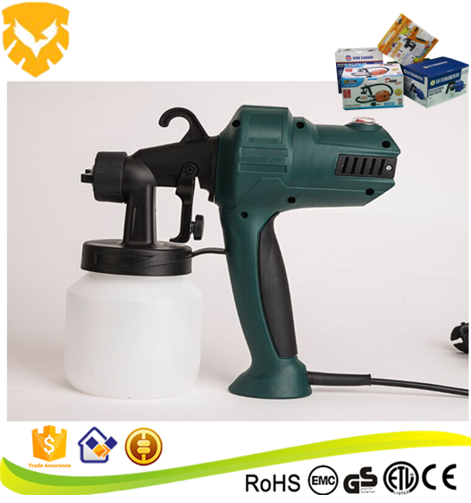 High quality 800 ml gravity HVLP adjust paint spray gun
