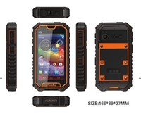 high quality waterproof cell phone android 4.2 MTK6589 quad core brand mobile phone RUNBO X6 rugged waterproof phone with PTT