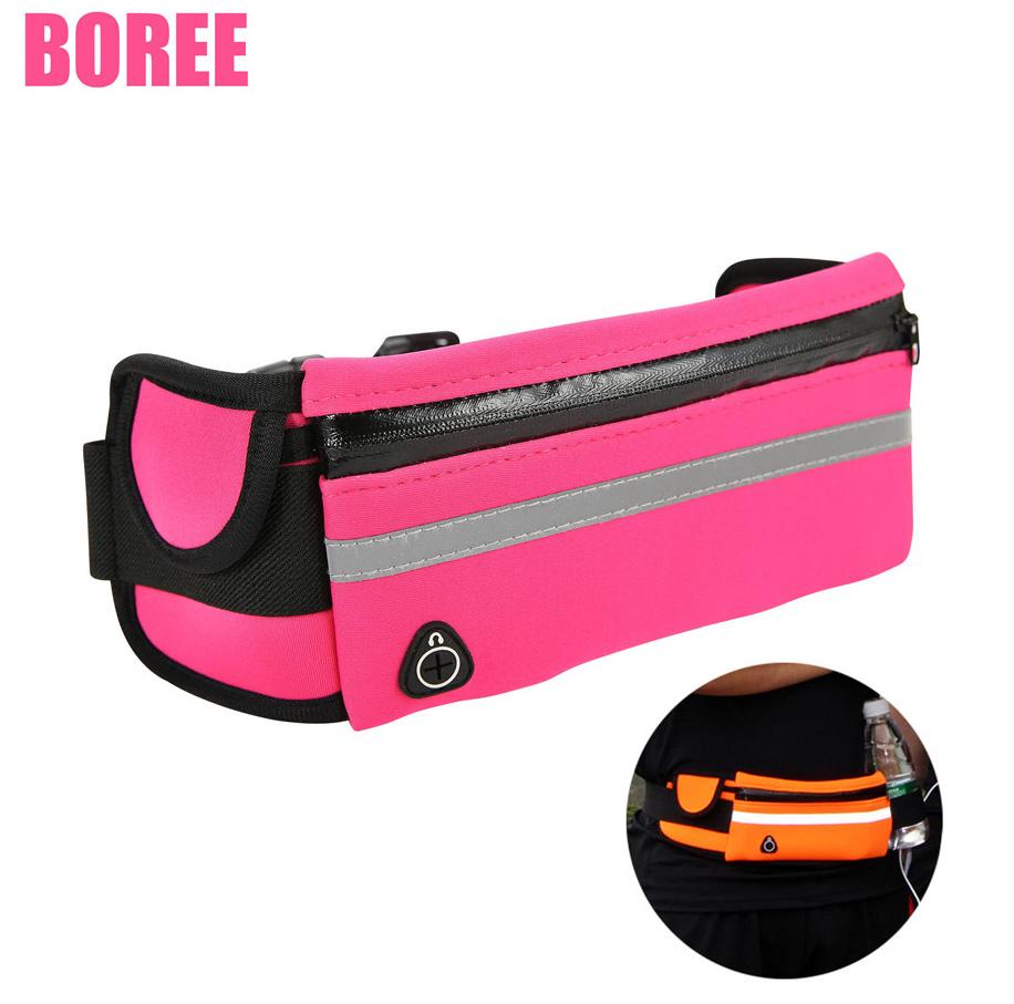 Designer Pack Waist Bag Hydration Running Belt Jogging Pouch Bags For Mens Whole White