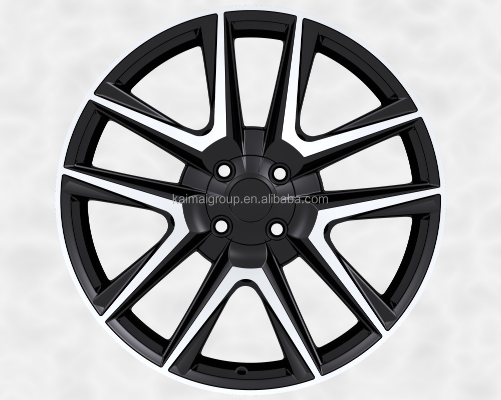 "new 18X7.5"" replica aluminum alloy wheel for car /wheel rim pcd 4X100"