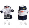 New Fashion Pet NAVY dress student Sailor Style Clothes For Summer