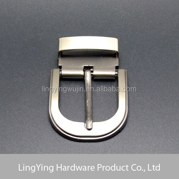 2015 top popular new design pin turning reversible belt buckle 35mm