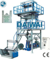 PLASTICS BLOWN FILM MAKING PLANT FOR GARBAGE BAG FILM WITH SINGLE WINDER