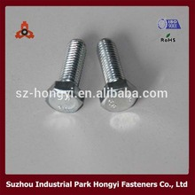 DIN933 Hexagon Head Hand Tighten Screws Carbon Steel M6-M24