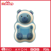 Cute bear shape new arrival BPA free kids plastic food tray
