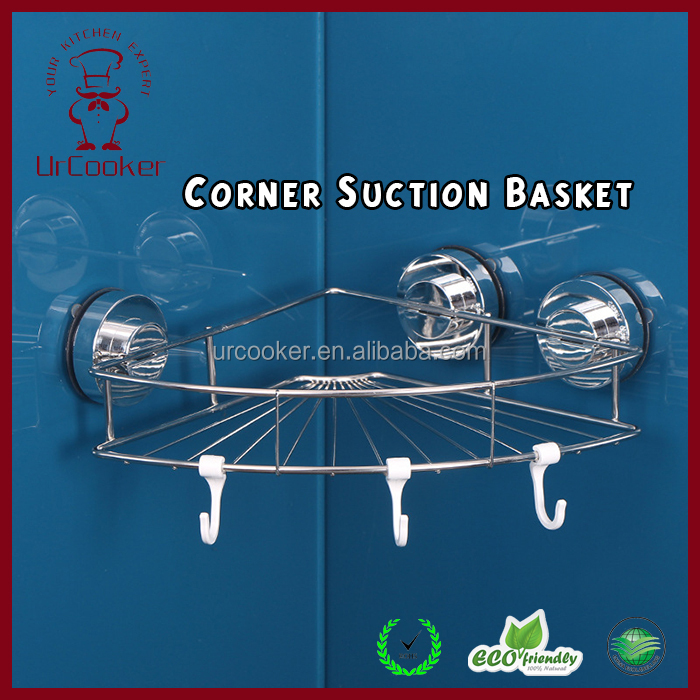 kitchen best selling accessories shelf bracket /suction cup corner shelf