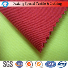 100%cotton Red Twill Fireproof cotton fabrics for safety workwear/clothing/garments