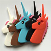 "Fashion 3D Cute Cartoon Unicorn Soft Silicon Rubber Case Cover For iphone 5 5s 7/ 6s 4.7"" / 6 plus 6s plus"