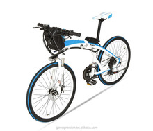 26inch 500W lithium battery magnesium alloy electric foldable bike /foldable electric bicycle