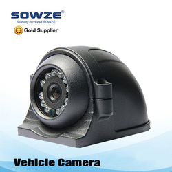 outdoor mototized HD 720p weatherproof night vision vehicle rear view camera for car