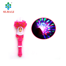 Factory direct sell Flashing Magic stick LED 3D light Arab women
