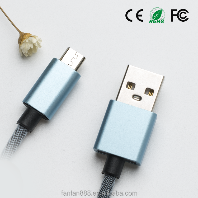 <strong>K</strong>-ball High quality OEM 1m micro USB data charging cable for mobile phone