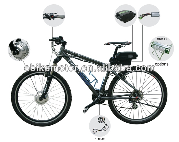 kit electric motor bike,electric bicycle conversion kits