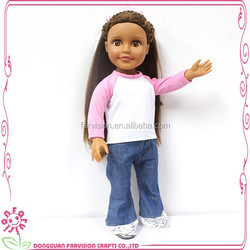New products hot sale vinyl doll little girl doll models with EN71