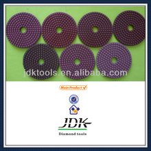 JDK Diamond Wet Flexible Polishing Pads for Concrete Grinding