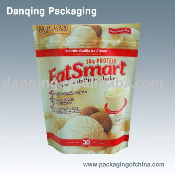 Newly Produced Plastic Packaging Stand up Pouches with Zipper