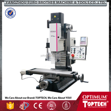 MH25SV digital 3-axis position display DRO 5 hot selling drilling and milling machine