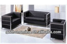 Modern Black Pu Leather Office Sofa Office Furniture SF-029