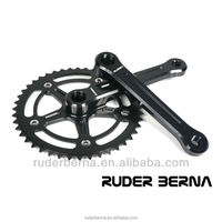 Ruder Berna Eightper Taiwan Made Fixie Track Fixed Gear Single Speed Black Crankset