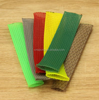 Bulk Spool PET colored expandable braided sleeve