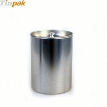 promotional round tin coffee packaging box