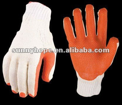 Latex-based Palm coated gloves