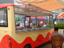 mobile food vending van for sale