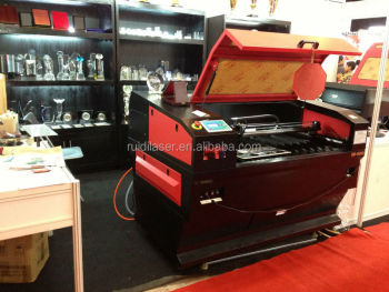 Hot Sale Guangzhou Ruidi Laser Cut 9060 (900x600mm) with 80w Laser Tube