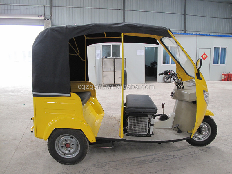 passenger tuk tuk/bajaj three wheeler/passenger 3 wheel motorcycle