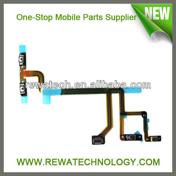 For iPod Touch 5 Power Switch Flex Cable Repairing Parts