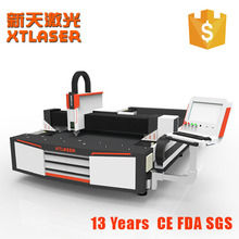 XTLASER 1000W Fiber Thin Sheet Metals Laser Cutting Machine