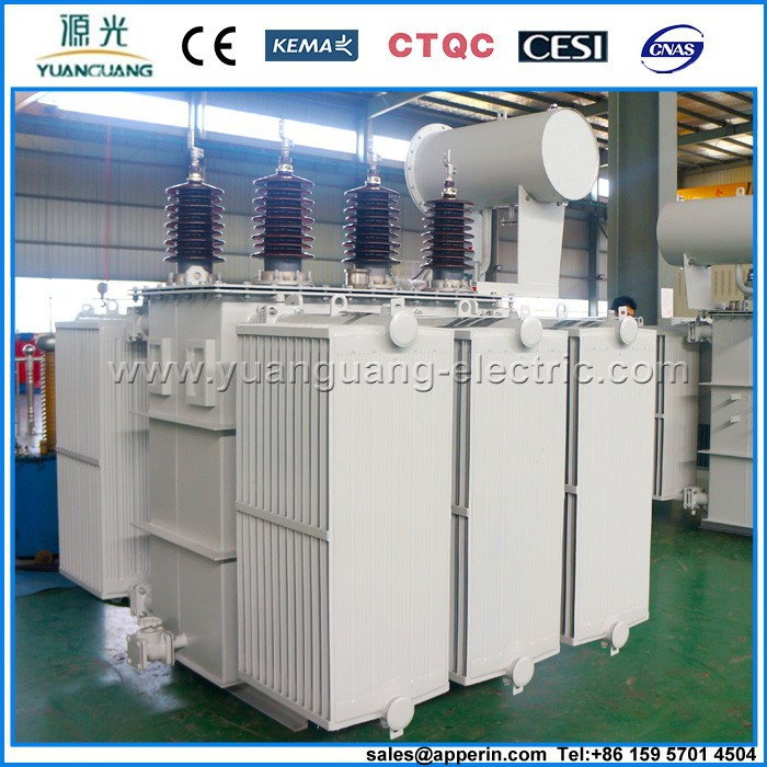 35kV Three-phase NLTC Oil immersed Power Transformer