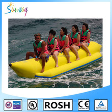 SUNWAY Factory Direct Rib Hypalon /Pvc Inflatable Boat with Marine Outboard Engine