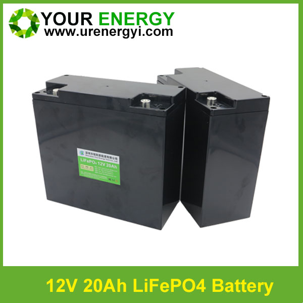 Manufacturing 12 volt lithium ion battery 20ah safety 240w with acid case
