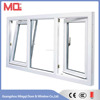 Tilt and turn pvc windows China supplier