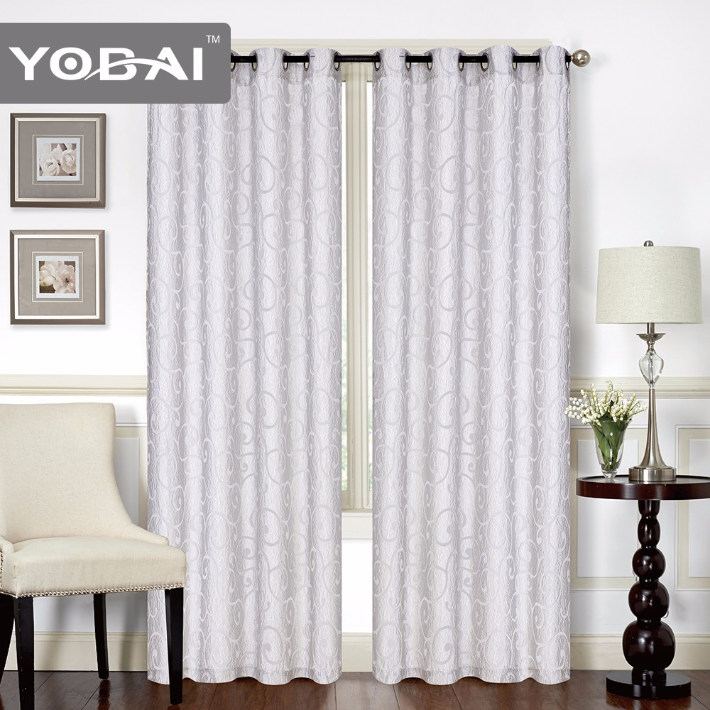 Esigner Home Decor Custom Ready Made Dubai Window Lace Curtain