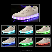 wholesale new design lighting led shoes LED USB Charge shoes