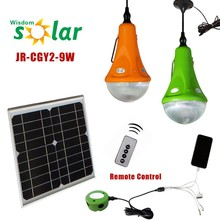 China CE smart rural area application portable indoor led solar home lighting system
