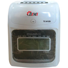 First Time Clock / electronic time recorder for workers' attendance