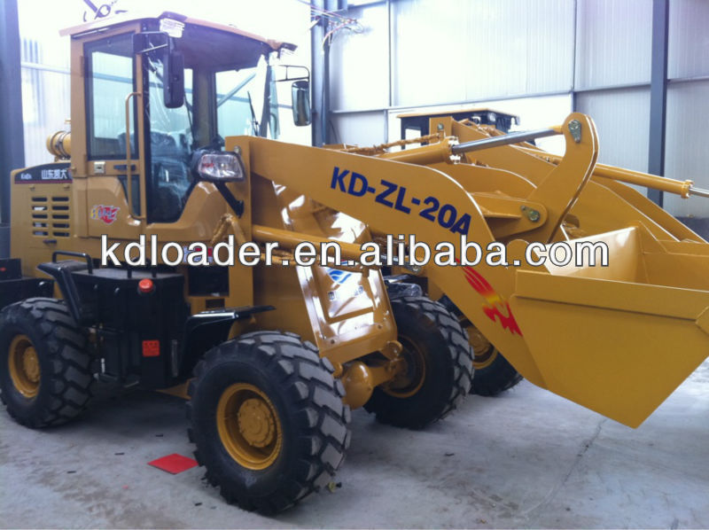 ZL-20 Loader to construction projects