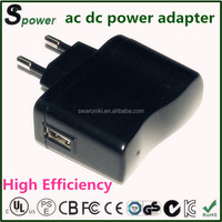 5v 1a fly power switching adapter 5w with CE FCC CUL PSE