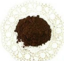 raw black cocoa powder