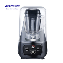 2L BPA Free Jar with Sound Enclosure Quiet Power Heavy Duty Commercial Food Blender