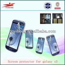 2013 Hot Sale High Clear Anti-Scratch Screen Protector For Samsung Galaxy S3 i9300