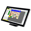 Complete set 15 inch touch screen POS system all in one pos machine