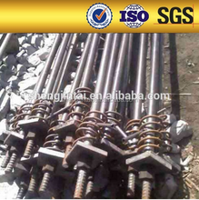 high strength psb930 customized no-rib left hand solid steel full thread screw bar/bolt/rod