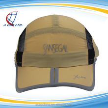 Cheap Wholesale Waterproof and Light Weight LED Back Strap Men Outdoor Sports Hat and Caps
