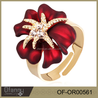 New product fashion flower shape sex anal ring