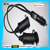 car cigarette lighter cable ,car battery charger ,cigarette lighter extension cable